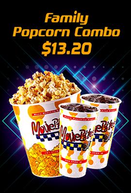 Family Popcorn Combo