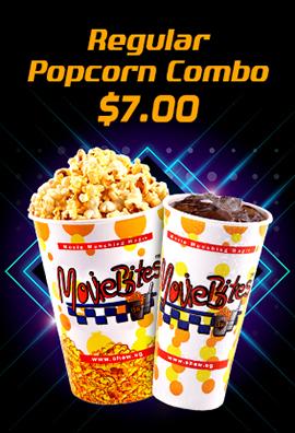 Regular Popcorn Combo